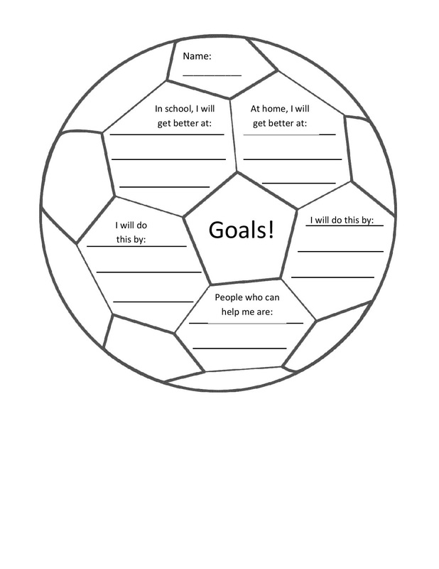 Printables Setting Goals For Students Worksheet worksheets and graphic organizers pcs elementary counselors picture goal setting soccer ball