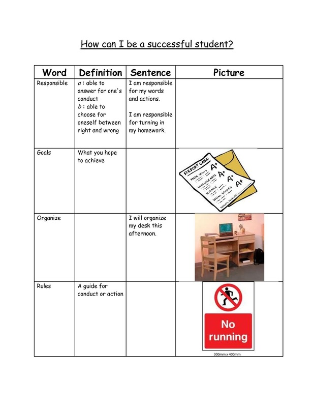 Worksheets and Graphic Organizers PCS Elementary Counselors – Matrix Worksheets